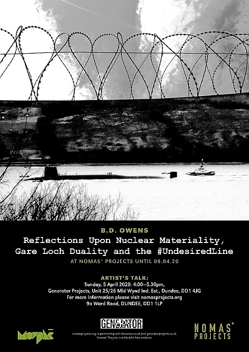 Reflections Upon Nuclear Materiality, Gare Loch Duality and the #UndesiredLine