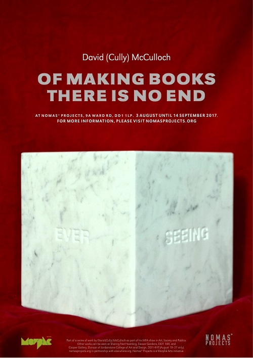 Of Making Books There is No End